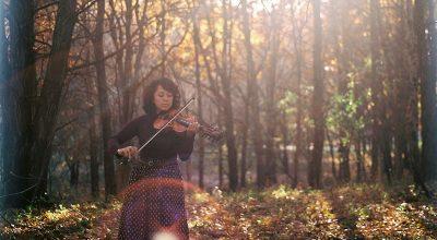 Zosha Warpeha, female violinist